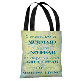 Must Be A Mermaid Tote Bag by OBC Tote Bag