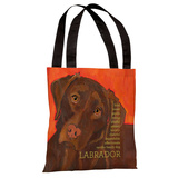 Labrador 2 Tote Bag by Ursula Dodge Tote Bag