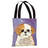 Shih Tzu 3 Tote Bag by Ursula Dodge Tote Bag