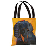 Daschund 3 Tote Bag by Ursula Dodge Tote Bag