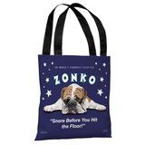 Zonko Tote Bag by Retro Pets Tote Bag