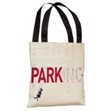 Parking Tote Bag by Banksy Tote Bag