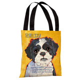 Shih Tzu 4 Tote Bag by Ursula Dodge Tote Bag