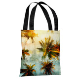 Palm Tree Gazer - Multi Tote Bag by OBC Tote Bag