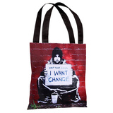 Keep Your Coins Tote Bag by Banksy Tote Bag