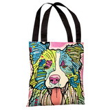 Colly Tote Bag by Dean Russo Tote Bag by Dean Russo