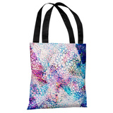 Sprinkles - Blue Pink Multi Tote Bag by OBC Tote Bag