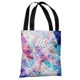 Sprinkles - Blue Pink Multi Tote Bag by OBC Tote Bag