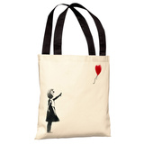There is Always Hope Tote Bag by Banksy Tote Bag
