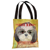 Shih Tzu 2 Tote Bag by Ursula Dodge Tote Bag