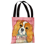Cavalier 1 Tote Bag by Ursula Dodge Tote Bag