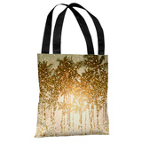 Sparkly Summer - Yellow Multi Tote Bag by OBC Tote Bag