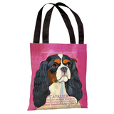 Cavalier 2 Tote Bag by Ursula Dodge Tote Bag