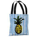 Fineapple - Blue Multi Tote Bag by OBC Tote Bag