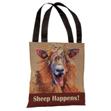 Party Sheep Tote Bag by Graviss Studios Tote Bag