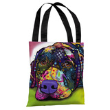 Savvy Labrador Tote Bag by Dean Russo Tote Bag by Dean Russo