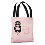 Not Your Babe - Pink Multi Tote Bag by OBC Tote Bag