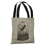 The Curiosity - Gray Tote Bag by Terry Fan Tote Bag