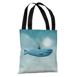 Whale Rider - Multi Tote Bag by Terry Fan Tote Bag