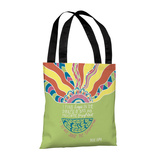 Find Hope in the Darkest Days - 18' Polyester Tote by Susan Claire Tote Bag by Susan Claire