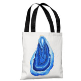 Petite Formations - Blue - Blue Tote Bag by lezleelliott Tote Bag by lezleeliott
