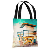 By The Beach - Multi Tote Bag by OBC Tote Bag