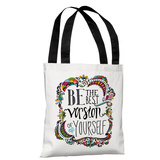 Best Version of Yourself - Multi Tote Bag by Pen & Paint Tote Bag