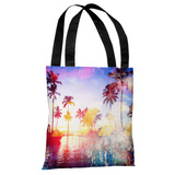 Santa Monica - Multi Tote Bag by OBC Tote Bag