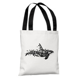 Fractured Killer Whale - Multi Tote Bag by Terry Fan Tote Bag