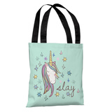 Slay Unicorn - Multi Tote Bag by OBC Tote Bag