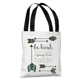 Be Kind Arrows - Multi Tote Bag by Pen & Paint Tote Bag