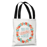 Beauty to the World - Multi Tote Bag by Pen & Paint Tote Bag