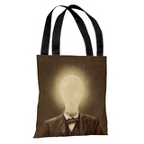 The Idea Man Sepia - Multi Tote Bag by Terry Fan Tote Bag