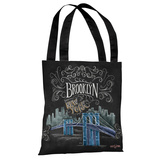 Brooklyn - Gray Multi Tote Bag by Lily & Val Tote Bag by Lily & Val