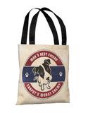 Mans Best Friend Carpets Worst Enemy - Multi Tote Bag by OBC Tote Bag