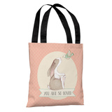 You Are So Loved - Pink Tote Bag by OBC Tote Bag
