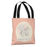 Dream Big Little One - Pink Tote Bag by OBC Tote Bag