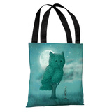 The Night Gardener - Multi Tote Bag by Terry Fan Tote Bag