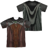 Lord Of The Rings- Frodo Costume Tee (Front/Back) T-Shirt