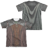 Lord Of The Rings- Frodo Costume Tee (Front/Back) Shirt