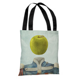Sgt. Apple - Multi Tote Bag by Terry Fan Tote Bag