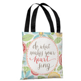 What Makes Your Heart Sing - Multi Tote Bag by Pen & Paint Tote Bag