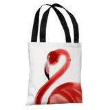 Oversized Flamingo - Tote Bag Tote Bag