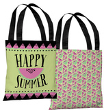 Happy Summer Watermelon - Multi Tote Bag by Pen & Paint Tote Bag