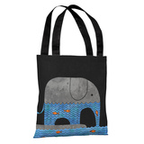 Thirsty Elephant - Multi Tote Bag by Terry Fan Tote Bag