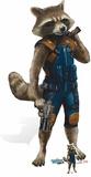 Rocket Raccoon - Guardians of the Galaxy Vol. 2 - Mini Cutout Included Silhouettes découpées en carton