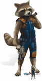 Rocket Raccoon - Guardians of the Galaxy Vol. 2 - Mini Cutout Included Pappfigurer