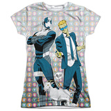 Juniors: Valiant: Quantum And Woody- The Bros T-shirts