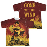 Youth: Gone With The Wind- Fire And Love (Front/Back) T-shirts