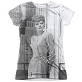Juniors: Lucille Ball- City Girl Womens Sublimated